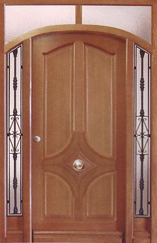 Venta de puertas y ventanas de madera desde 80 for Modelos de puerta de madera para casa