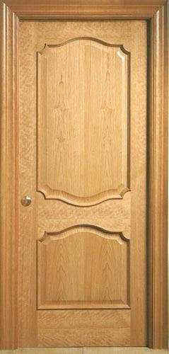 Venta puertas madera interiores precios desde 80 for Puertas en madera para interiores