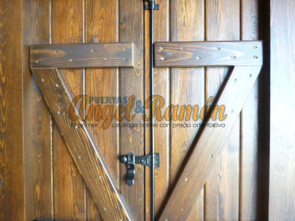 Tienda de puertas y ventanas de madera for Disenos de puertas rusticas en madera