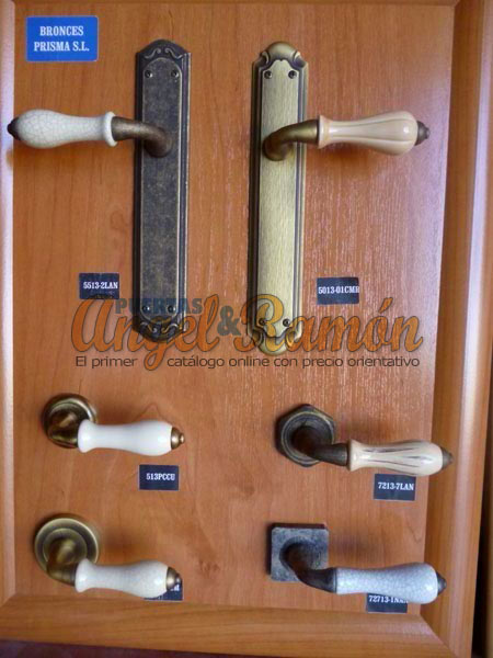 Tienda de puertas y ventanas de madera - Manillas puertas rusticas ...