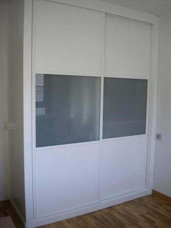 Modelo lac 9004 r cr puerta interior lacada blanca - Armarios empotrados lacados en blanco ...