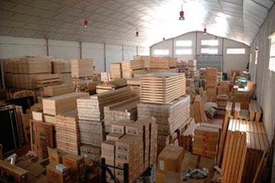 Stock puertas de madera