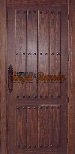 Modelo 102 Puerta De Interior Rustica Puertasangelyramones - Modelos-de-puertas-rusticas