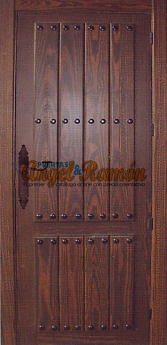 Modelo 102 puerta de interior r stica for Puertas de madera maciza exterior