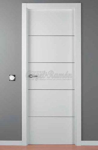Modelo lac alho 4 puerta interior lacada blanca con - Precios de puertas lacadas en blanco ...