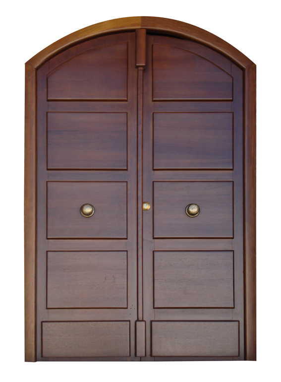 Modelo cl 22 puerta de entrada de madera for Puertas de entrada de madera modernas