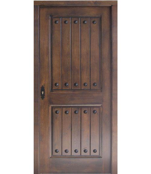 Modelo t81 puerta rustica de interior for Puerta madera rustica
