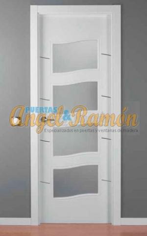 f4c6e1c17528 Modelo LAC-ALHO-4C-4V Puerta interior lacada blanca ...