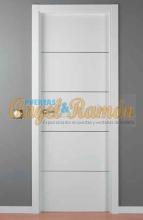 Venta puertas madera interiores precios desde 80 for Oferta puertas blancas interior