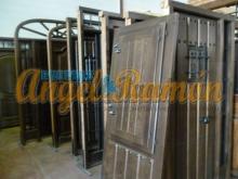 puertas rústicas de madera para la venta económicas