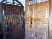terminaciones disponibles para puertas de madera