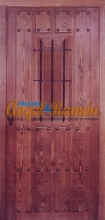 Puerta-calle-rustica-artesanal-pino,barata-oferta-exterior.calla.amedida -1hoja
