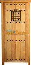 puerta-calle-entrada-rustica-amedida-pino-iroko-madera-barata-oferta-1hoja
