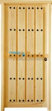puerta-porton-madera-rustica-antigua-barata-oferta-iroko-pino-1hoja-rejas-clavos-artesanal