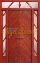 Puerta-moderna-iroko-fijo,montante,laterales-pino-exterior-calle-barata-oferta-a medida-stock-artesanal