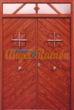 Puerta-moderna-iroko-fijo,montante,laterales-2hojas-rustica-pino-barata-oferta-exterior-calle-a medida