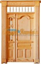 modelo f puerta exterior de madera clsica