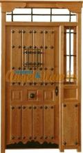 puerta-calle-rustica-lateral-montante-porton-exterior-entrada-pino-iroko-artesanal-barato-oferta-rejas