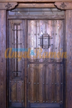 porton-calle-puerta-rustica-madera-artesanal-amedida-laterales-montantes-fijos-pino-iroko-oferta-barato-