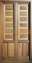 balcón madera europeo contraventanas