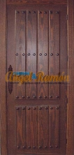 puerta interior rústica