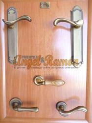 manillas de bronce para puertas
