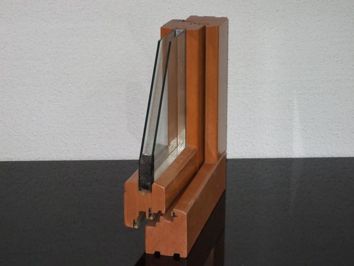 ventana madera perfil europeo