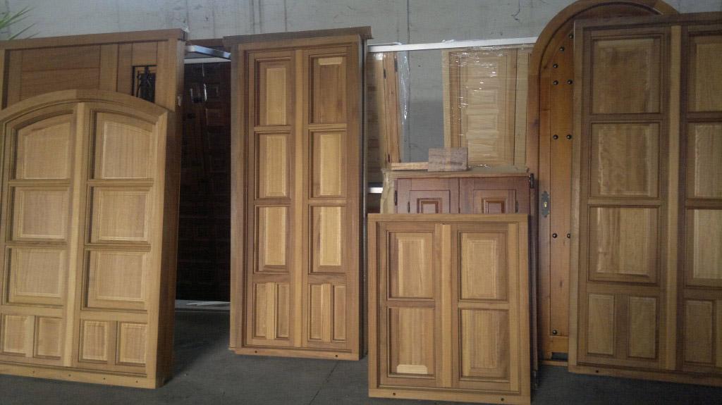 ventanas de madera de irioko